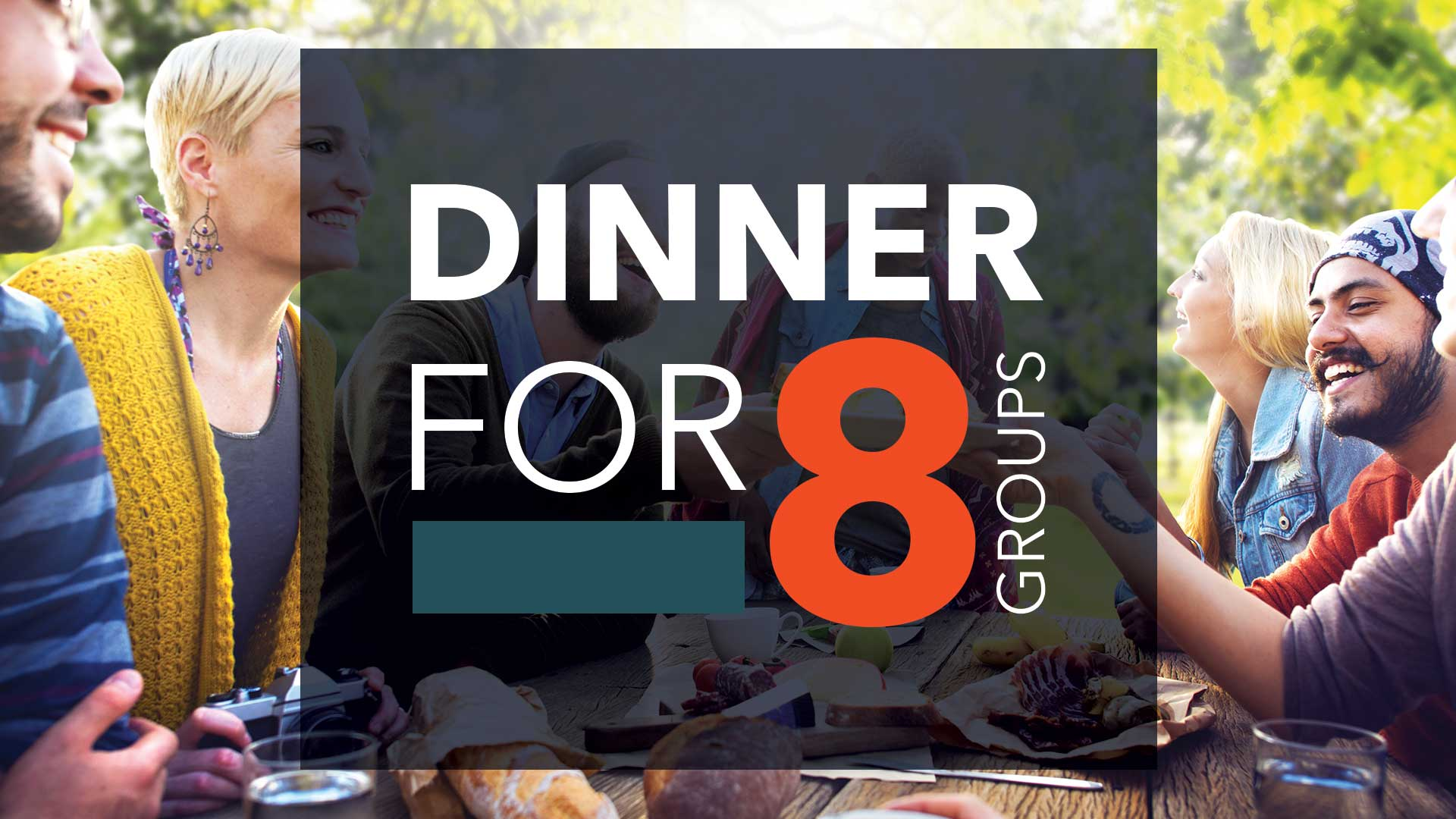 Dinner for 8 Registration