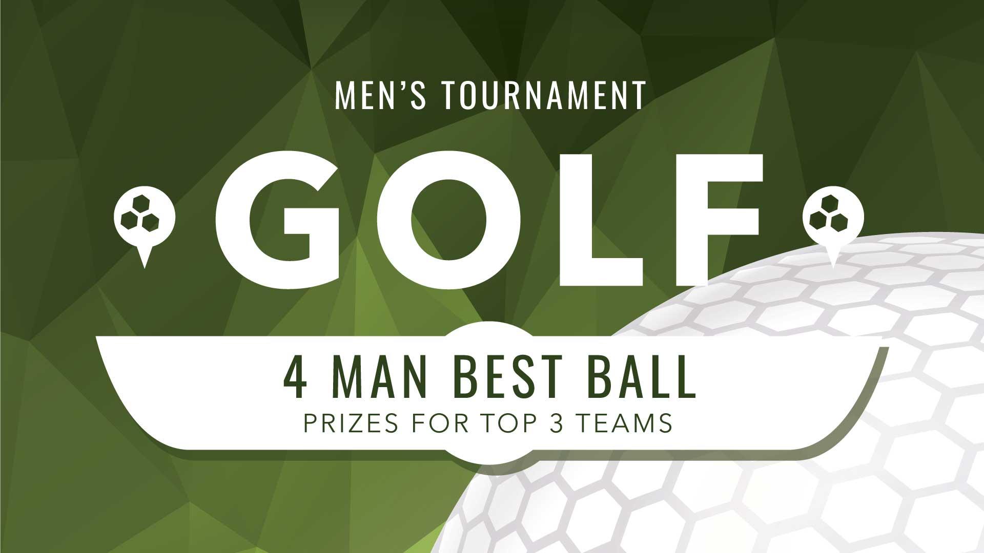 Men's Ministry Golf Tournament